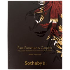 Sotheby's Fine Furniture and Carpets Including Property from Newton Surmaville