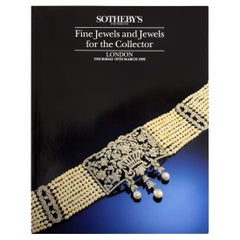 Sotheby's Fine Jewels and Jewels for the Collector, London 1992, First Edition