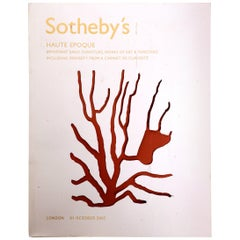 Sotheby's Haute Epoque-Important Early Furniture, Works of Art First Edition