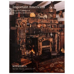 Sotheby's Important Americana-Collection of Mr & Mrs James O'Keene-Jan, 1997 1st