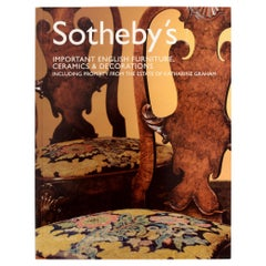 Sotheby's Important English Furniture, Property of Estate Katharine Graham, 1st