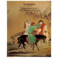 Sotheby's Japanese Prints, Paintings and Screens, New York June 18, 1990