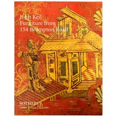 Sotheby's London John Keil Furniture from 154 Brompton Road April 1998 1st Ed