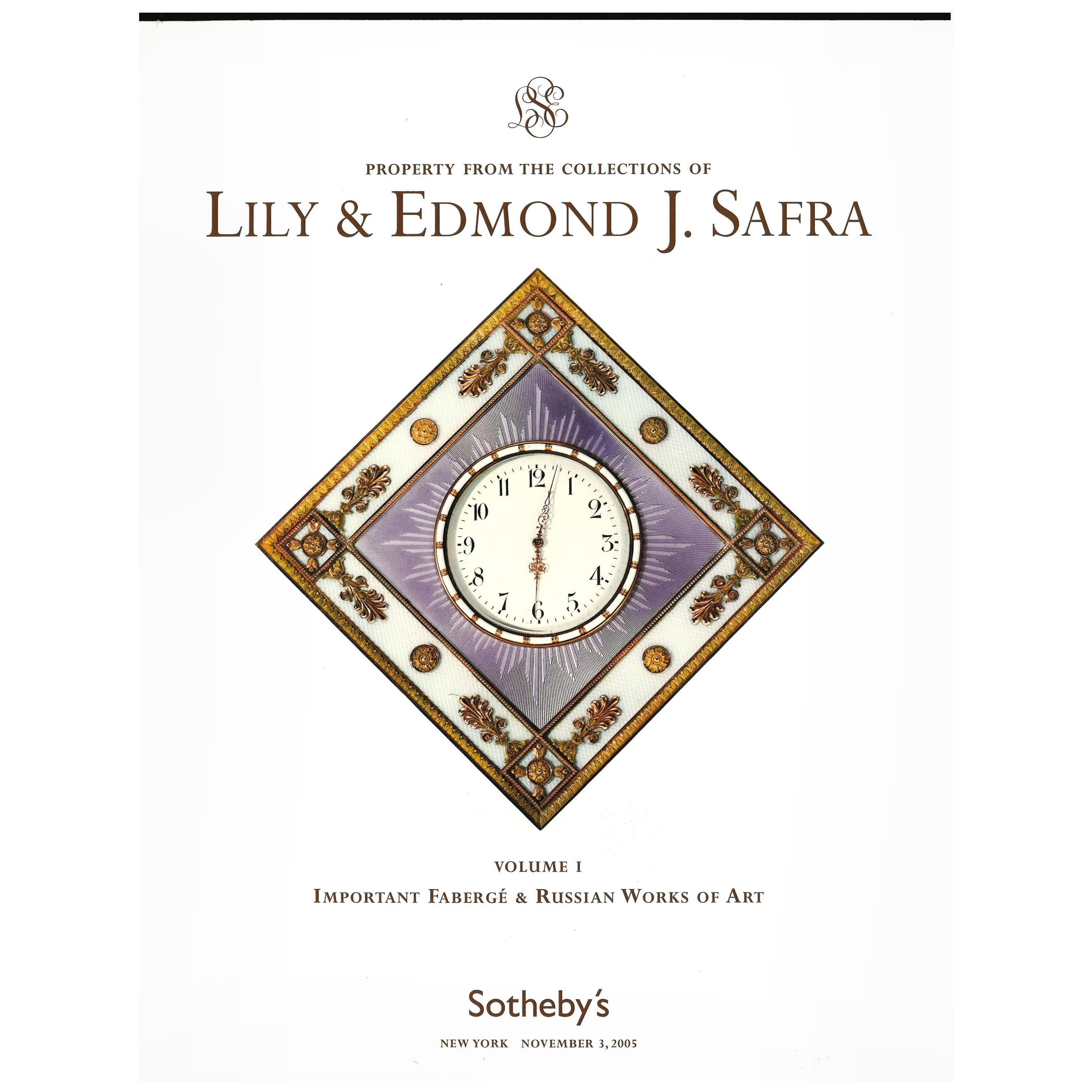 Sotheby's November 2005, Lily & Edmond Safra Collection Sale Catalogues