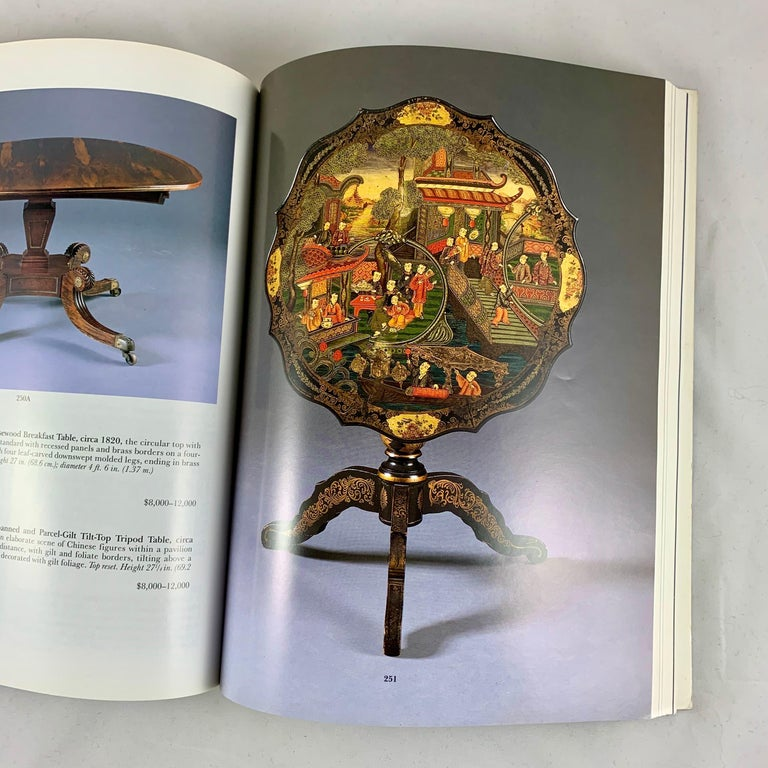Machine-Made Sotheby's NY Auction Catalogue, Important English Furniture & Decorations, 1996