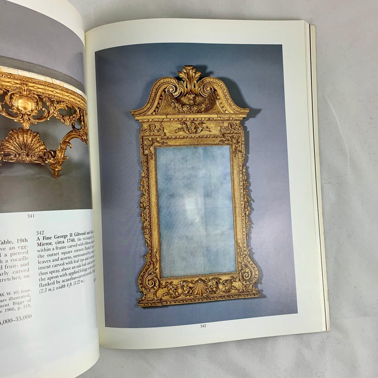 Sotheby's NY Auction Catalogue, Important English Furniture & Decorations, 1996 In Good Condition In Philadelphia, PA