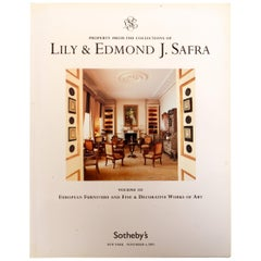 Sotheby's NY Property From the Collections of Lily & Edmond J. Safra, Vol. III
