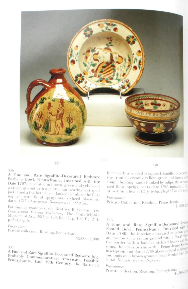 Sotheby's, Pennsylvania-German Folk Art, Decorative Arts and Furniture For Sale 5