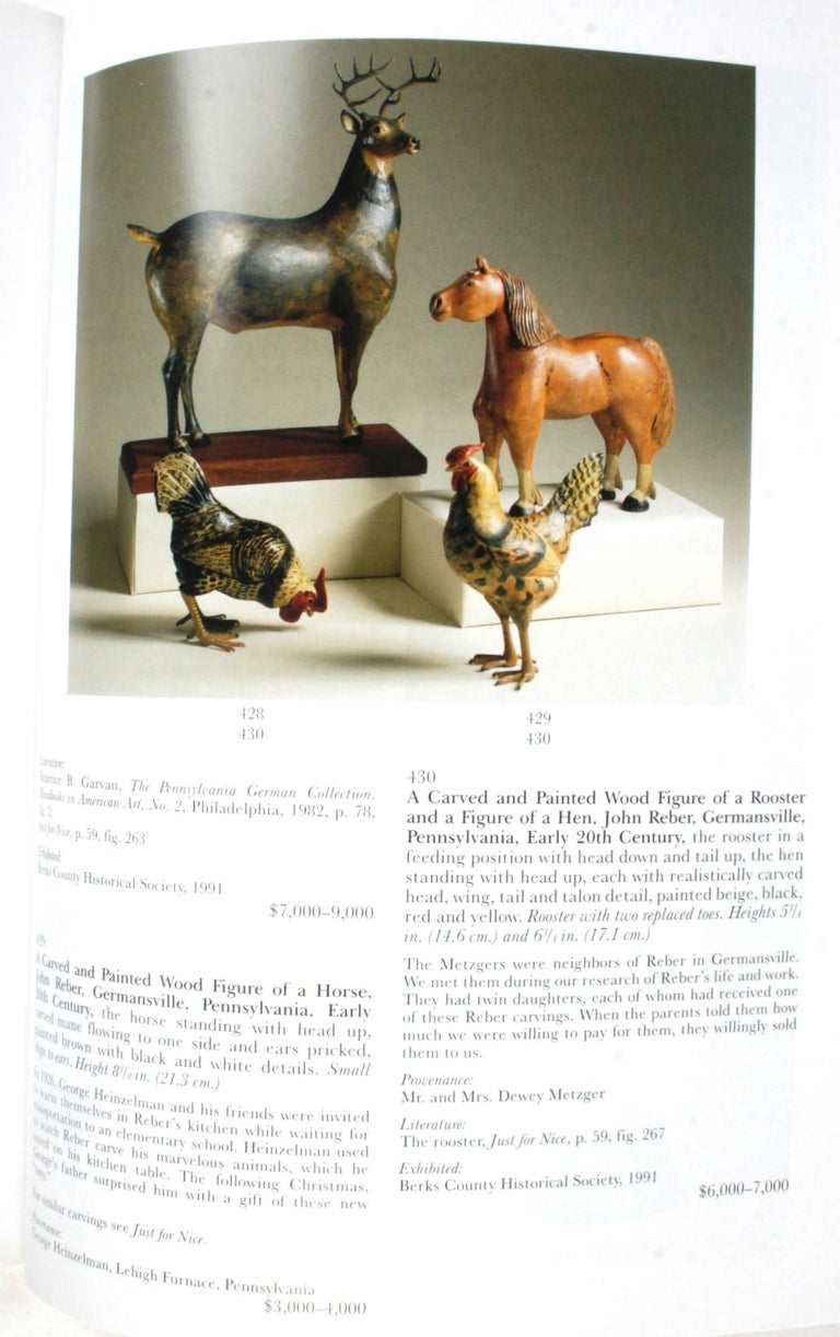 Sotheby's, Pennsylvania-German Folk Art, Decorative Arts and Furniture For Sale 9