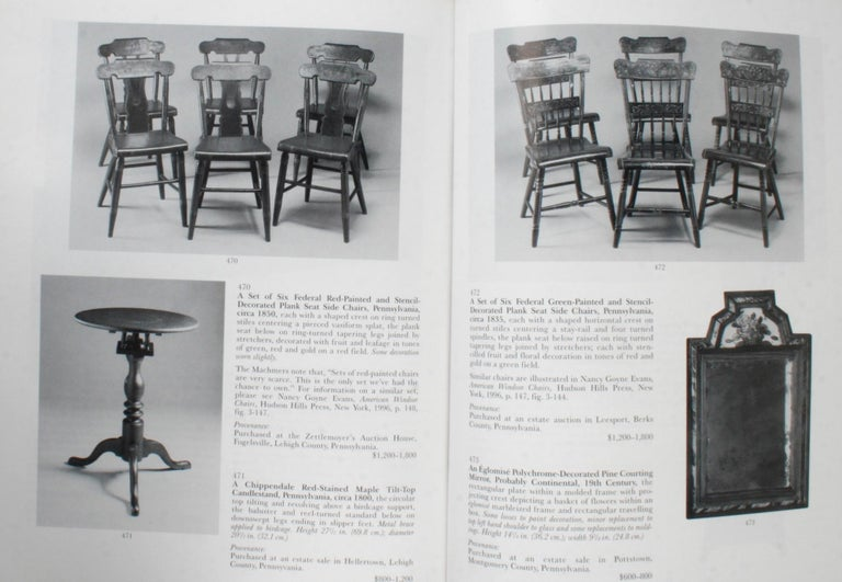 Sotheby's, Pennsylvania-German Folk Art, Decorative Arts and Furniture For Sale 11