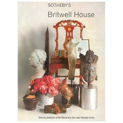 Sotheby's Sale Catalogue for Britwell House - the David Hicks residence.