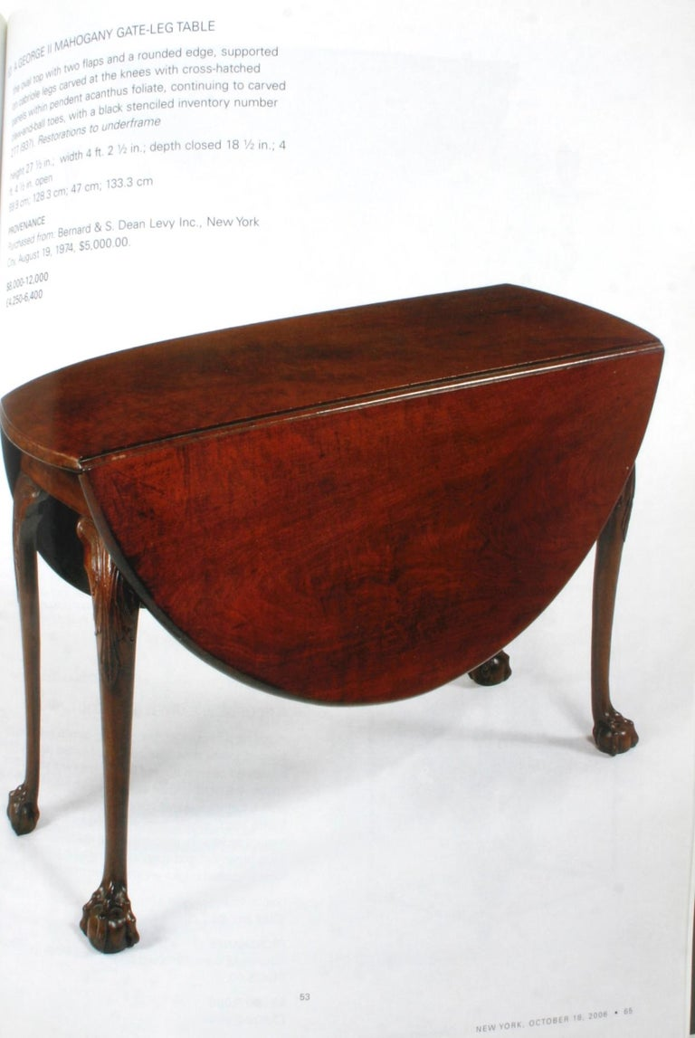 Sotheby's: The Collection of Mr. and Mrs. Martin Gersh, New York, Oct. 18, 2006 For Sale 7