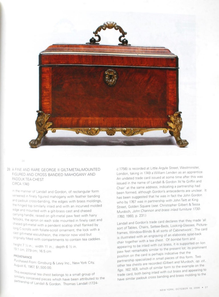 Contemporary Sotheby's: The Collection of Mr. and Mrs. Martin Gersh, New York, Oct. 18, 2006 For Sale