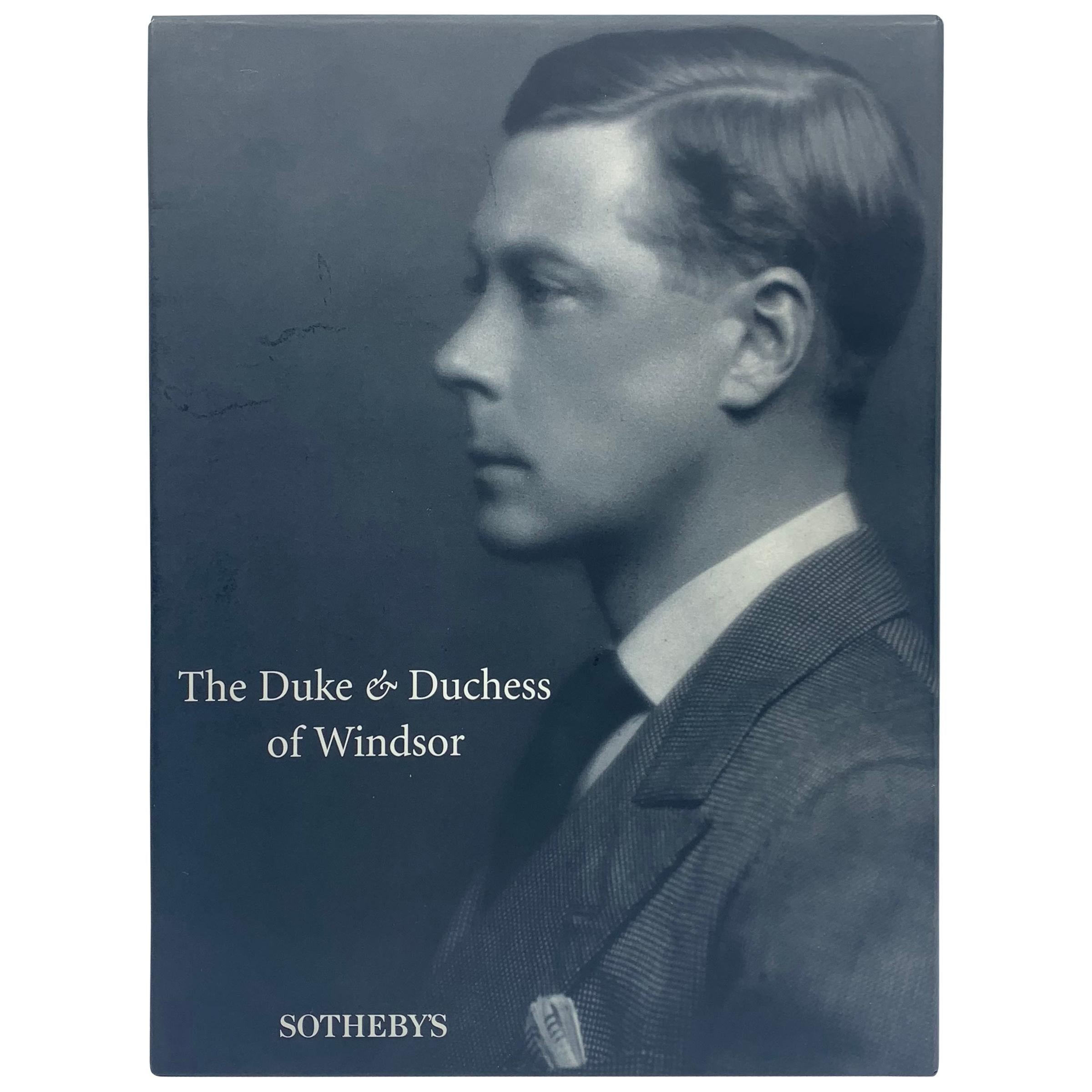"""Sotheby's """"The Duke and Duchess of Windsor Auction"""" Book Catalogs"""