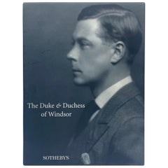 "Sotheby's ""The Duke and Duchess of Windsor Auction"" Book Catalogs"
