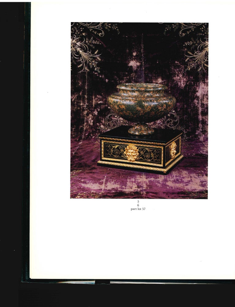 SOTHEBY'S The Jacques Garcia Collection, 1990 Sale Catalogue In Good Condition For Sale In North Yorkshire, GB