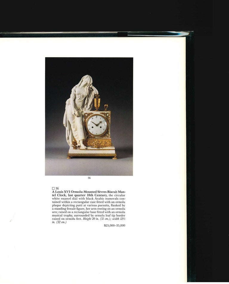 SOTHEBY'S The Jacques Garcia Collection, 1990 Sale Catalogue For Sale 1