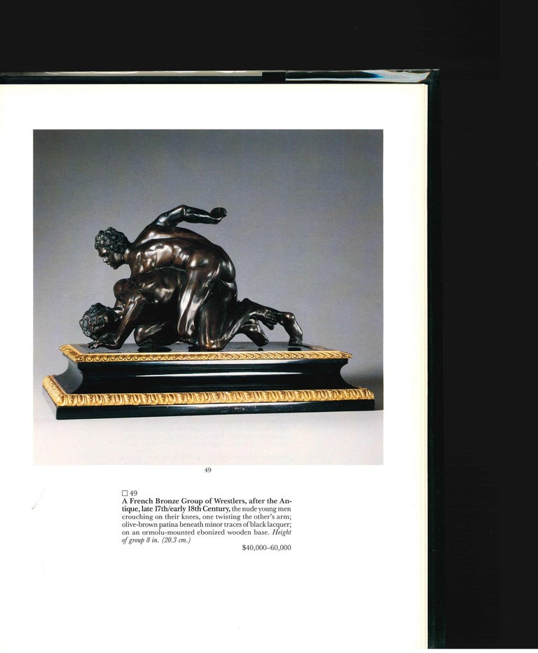 SOTHEBY'S The Jacques Garcia Collection, 1990 Sale Catalogue For Sale 2