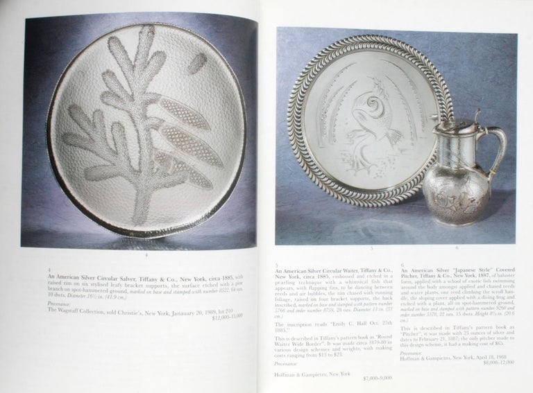 Sotheby's the Jerome Rapoport Collection of American Aesthetic Silver In Good Condition For Sale In Kinderhook, NY