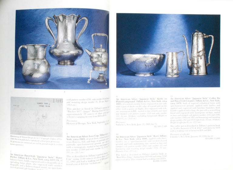 20th Century Sotheby's the Jerome Rapoport Collection of American Aesthetic Silver For Sale
