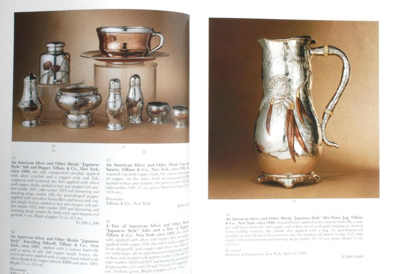 Sotheby's the Jerome Rapoport Collection of American Aesthetic Silver For Sale 3