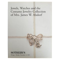 Sotheby's, Watches & the Costume Jewelry Collection of Mrs. James W. Alsdorf