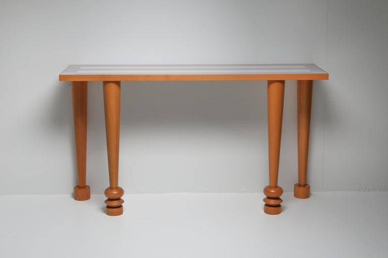 Post-Modern Sottsass Console Table 'Positano' for Zanotta, 1993 For Sale