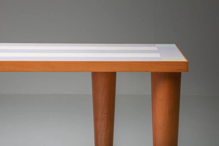 Sottsass Console Table 'Positano' for Zanotta, 1993 For Sale 2