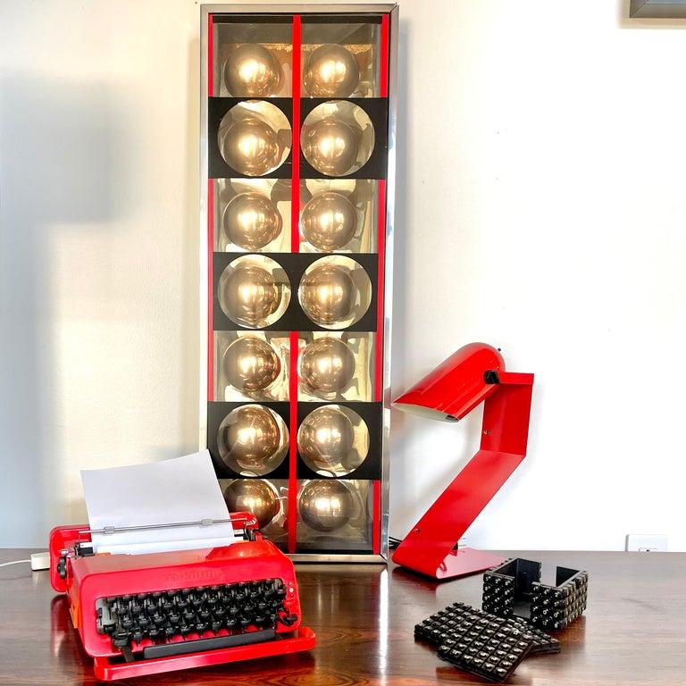 Italian Sottsass for Olivetti Valentine Typewriter For Sale