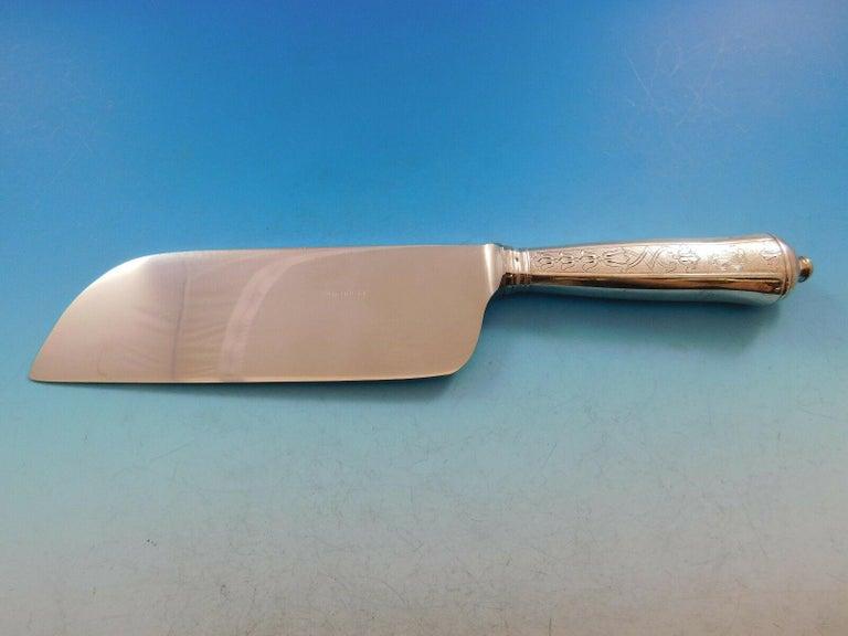 Soubise by Puiforcat France Sterling Silver Flatware Set Service 33 Pcs Dinner For Sale 6