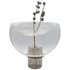 Soufflè, Blown Glass Vase, Ikebana for Beginners