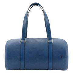 Soufflot Handbag Epi Leather