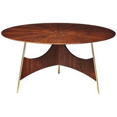 """Soul"" Wood and Metal Contemporary Table - Immediate Delivery"