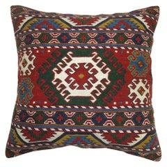 Soumac Kilim Vintage Pillow