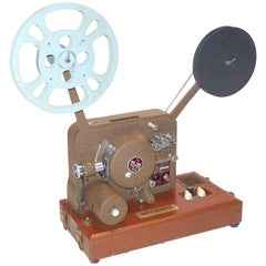 Sound and Picture Movie Projector Art Deco Vintage All Original, circa 1940s