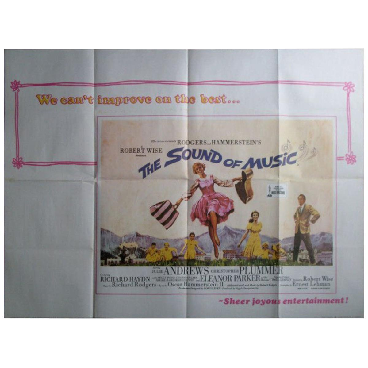 Sound of Music, The '1966r' Poster