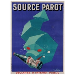 """Source Parot"" Original Vintage Poster"