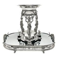 Sourtout De Table Centerpiece
