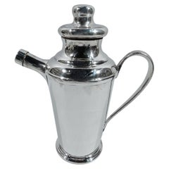 South American Mid-Century Modern Sterling Silver Cocktail Shaker