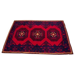 South Asian Baluch-Style Wool Rug