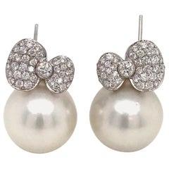 Harbor Diamonds Stud Earrings