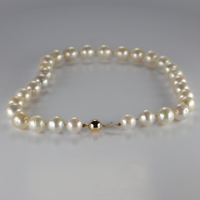 South Sea Pearl Necklace Princess Length Large Pearls For Sale 1