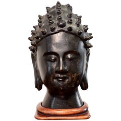 Southeast Asian Style Sculpture of a Buddha'