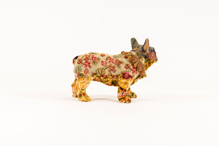 Southern Beasts Bull Dog by Mary Lou Marks In Excellent Condition In Houston, TX