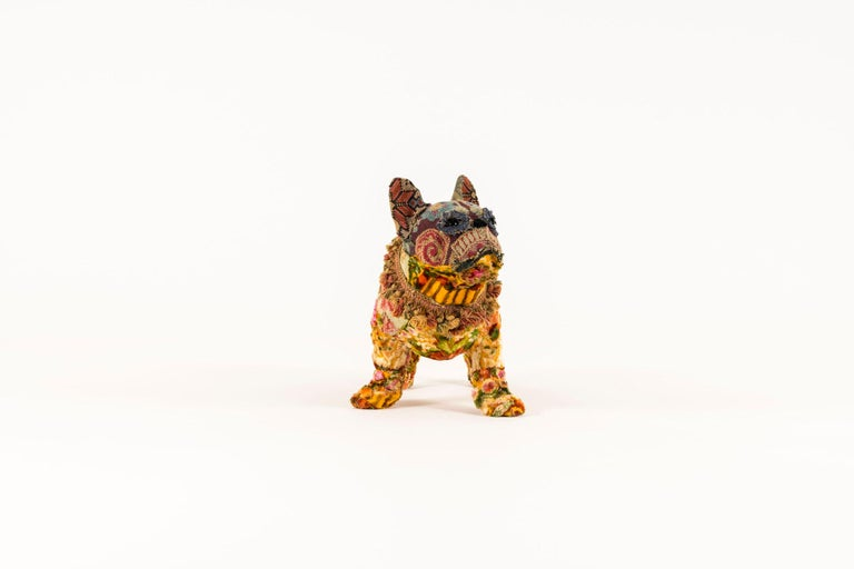 Contemporary Southern Beasts Bull Dog by Mary Lou Marks For Sale