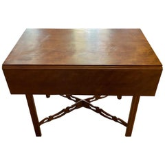 Southern New England Chippendale Cherry Drop-Leaf Table, circa 1770