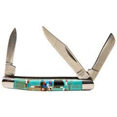 Southwestern Style Pocket Knife