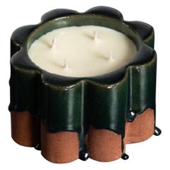Soy Candle Inno 's' Cent, Dark Green by Milan Pekař, Amansoycandles