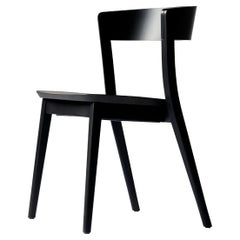 SP01 Clarke Chair in Carbon Stained Ash, Made in Italy