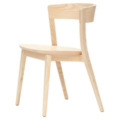 SP01 Clarke Chair in Natural Ash, Made in Italy